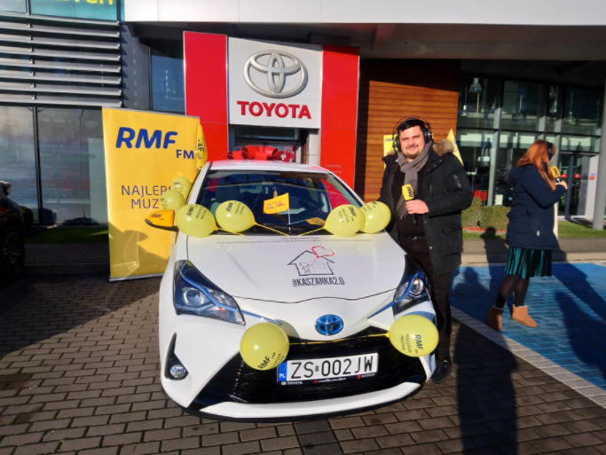 Jeden z samochodów, który został podarowany zachodniopomorskiej placówce /Joanna Kocot /RMF FM