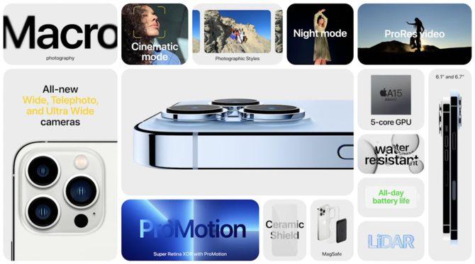 Apple iPhone 13, 13 mini, 13 Pro i 13 Pro Max oficjalnie – Subtelne zmiany nie będą powodem do dumy [10]