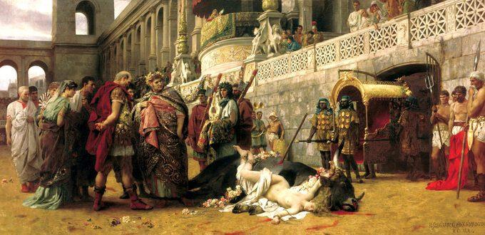 Neron naobrazie Henryka Siemiradzkiego
